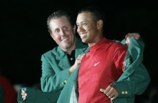 The greatest shots in Masters history: Tiger's chip on the 16th