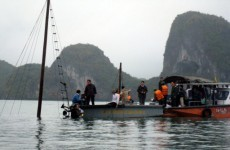 12 killed after Vietnam tourist boat sinks