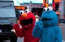 Cookie Monster accused of shoving toddler in New York