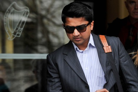Praveen Halappanavar at the inquest into the death of his wife Savita in Galway this week