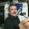 VIDEO: How do you shave in outer space?