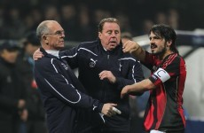 "Header: Gattuso charged with ""gross unsporting conduct"""