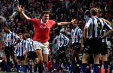 20 years ago today: Steve Bruce's 96th-minute winner against Sheffield Wednesday