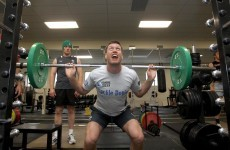 foto Grunt louder to lift more, says new research