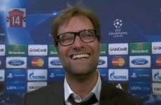 Jurgen Klopp is one of our favourite people after tonight's post-match interview