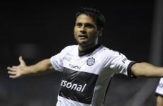 Family affair: Leo Messi's cousin scores wonder goal