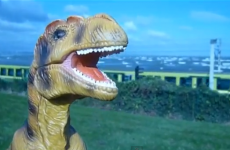 VIDEO: Just a dinosaur rapping Dúnmharú ar an Dart