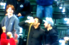 Fan catches foul ball in his beer, then proceeds to chug it like a boss
