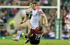 Heeeeeere's Tommy! Bowe to start for Ulster against Dragons