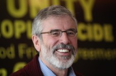 Gerry Adams criticises parties celebrating Thatcher's death