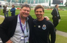 You're nobody until you've had your picture taken with TV3′s Trevor Welsh