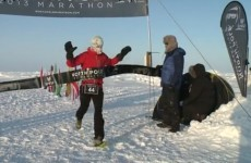 Galway teacher wins marathon... in the North Pole