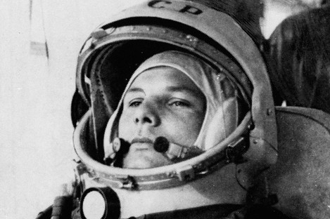 Cosmonaut Yuri Gagarin became a Soviet hero when he came the first man to enter orbit, on this day in 1961.