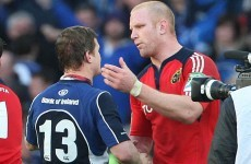 It's Paul O'Connell versus Brian O'Driscoll, 18 months in the making