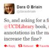 Tweet Sweeper: Dara O'Briain's overdue library book