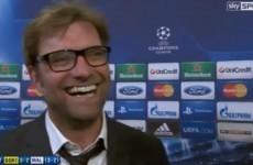 Champions League reaction: Jurgen Klopp happy to face Real Madrid