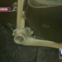 Man's belt buckle stops a bullet and saves his life