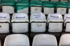 They're expecting the President in Tolka Park tonight