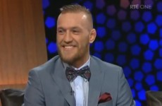 VIDEO: Conor McGregor and Cathal Pendred on the Late Late