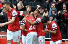 Premier League wrap: Late salvo sends Arsenal up to third, Liverpool draw