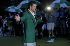 Adam Scott holds off Cabrera in play-off to win the Masters