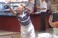 The best dancer on the internet is this old man