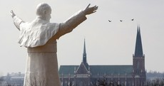 Photos: Giant statue of Pope John Paul II unveiled in Poland