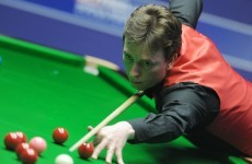 Ken Doherty won't be playing at the Crucible this year