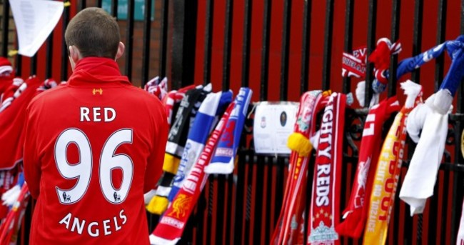A city united: Hillsborough victims remembered at Anfield anniversary service