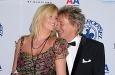 Rod Stewart a father for the eighth time, at 66