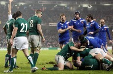 France v Ireland will be the final game of next year's 6 Nations