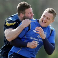 What the hell was going on at Leinster training today?