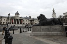 Shocked tourists witness battle in London's Trafalgar Square that leaves three in hospital