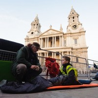 Thatcher supporters set up camp ahead of funeral