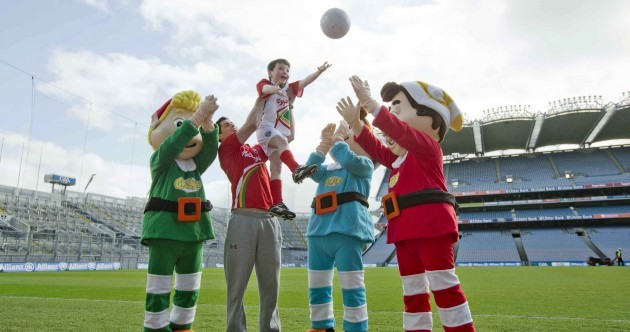 Your 'Snap, Crackle and Pop in Croke Park' picture of the day