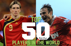 The 50 best players in the world