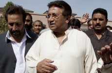 Pakistan's Musharraf flees court to avoid arrest