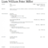 Liam Miller needs a new club - here's what his CV would look like