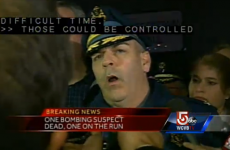 LIVE: Local TV covers the manhunt for the Boston Marathon suspect