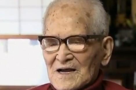Jiroemon Kimura, who turned 116 yesterday.