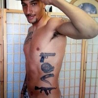Has Jay Bothroyd got the stupidest collection of tattoos you've ever seen?
