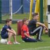The Beckham boys team up to take on Zlatan Ibrahimovic