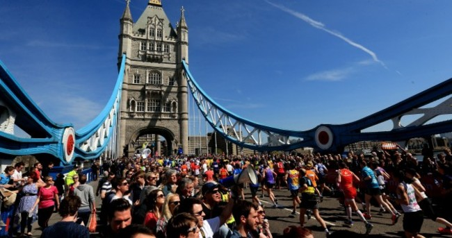 18 of the best pics from today's London marathon