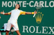 Looks like Novak Djokovic enjoyed beating Rafa Nadal in Monte Carlo