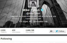 As Ivanovic says he won't press charges, Mike Tyson follows Luis Suarez on Twitter