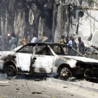 Suicide car bomb kills six in Mogadishu