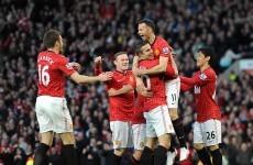 VIDEO: Stunning Van Persie strike puts United in control against Villa