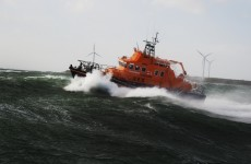 Two men rescued from stricken yacht