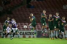 The Billy Dennehy free-kick that broke Cork City hearts last night