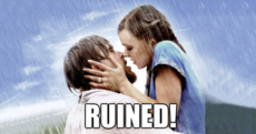 The Dredge: Why is Bradley Cooper trying to ruin The Notebook on us?